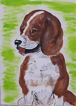 Beagle by Kathy Young