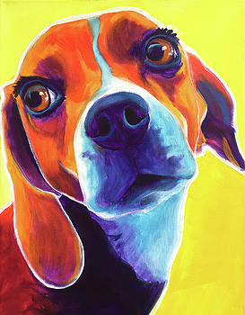 Beagle - Marcie by Alicia VanNoy Call
