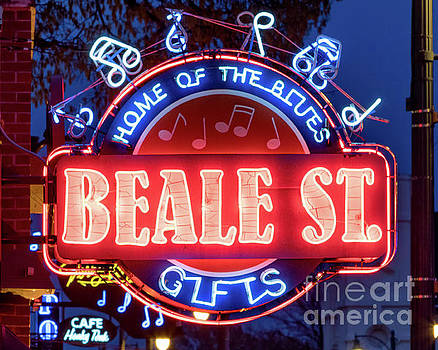 Beale Street Home of the Blues by Jerry Fornarotto