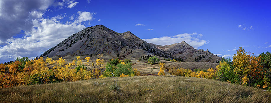 Bear Butte Sturgis South Dakota Autumn Colors by Ray Van Gundy