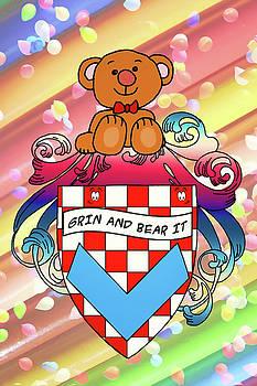 Bear Family Crest by John Haldane