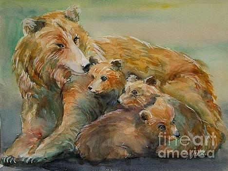 Bear Family by Yi-Ju Miller