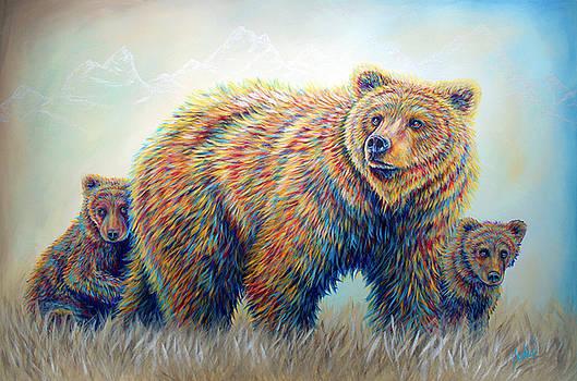 Bear Heaven by Teshia Art