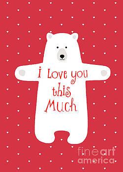 Bear hug by Wendy Paula Patterson