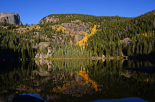 Bear Lake Reflection by Charles Frieda