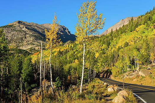 John De Bord - Bear Lake Road In Fall