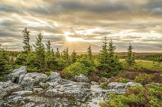 Julie Richie - Bear Rocks Sunset
