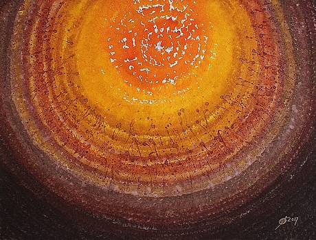 Beargrass Halo original painting SOLD by Sol Luckman