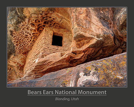 Bears Ears National Monument - Anasazi Ruin by Gary Whitton