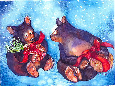 Peggy Wilson - Bears with Gifts