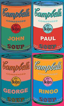 Beatles Soups 2 by Ken Surman