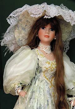 Beautiful Antique Doll by Rosalie Scanlon
