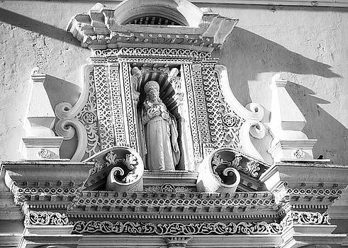 Beautiful Architectural Details above the Entry to La Merced Convent by Daniela Constantinescu