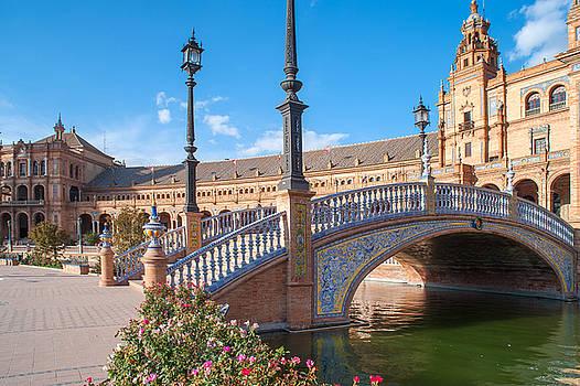 Jenny Rainbow - Beautiful Architecture of Plaza de Espana in Seville