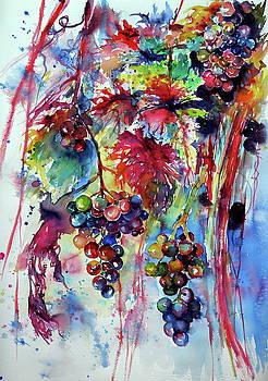Beautiful autumn... Grapes by Kovacs Anna Brigitta