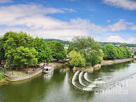 Beautiful Bath and the River Avon by Colin and Linda McKie