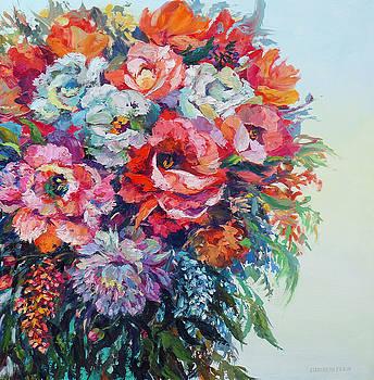 Beautiful Blooms by Elizabeth Elkin