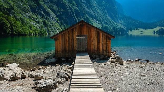 Beautiful Boat House by Luke Lonergan by Luke Lonergan