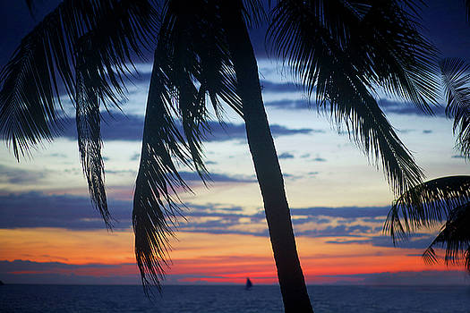 Beautiful Boracay sunset by Christopher Rowlands