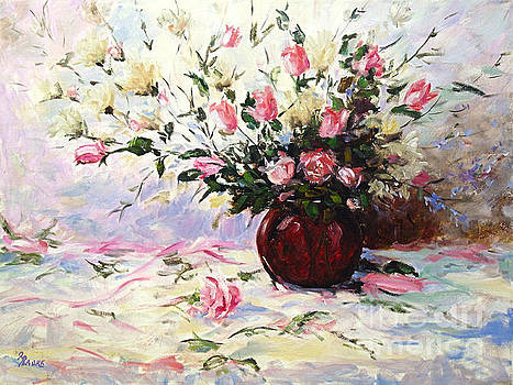 Beautiful Bouquet of roses by Richard T Pranke