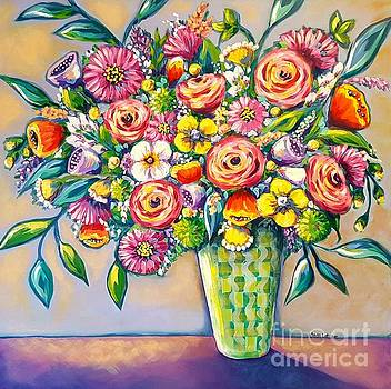 Beautiful Bouquet by Sandra Lett