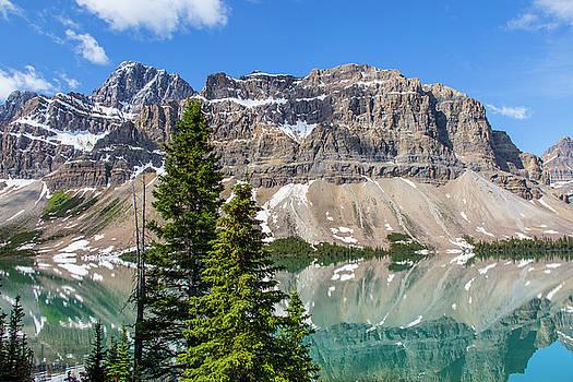 Beautiful Bow Lake by Craig Sanders
