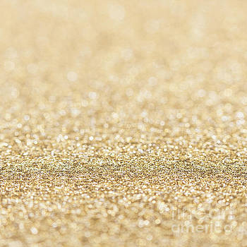Beautiful champagne gold glitter sparkles by PLdesign
