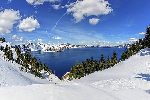 Beautiful Crater Lake by Mark Whitt