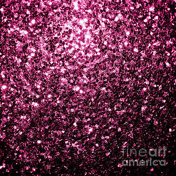 Beautiful Dark Pink glitter sparkles by PLdesign