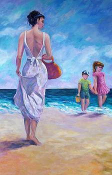 Beautiful Day at the Beach by Rosie Sherman