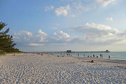 Toby McGuire - Beautiful Day on Naples Beach Naples Florida