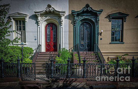 Beautiful Doors on Bull Street by Dale Powell
