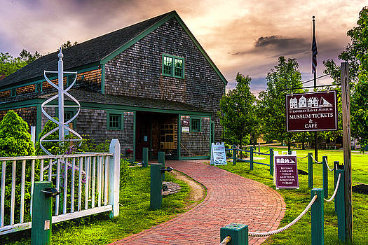 Beautiful Evening at Strawbery Banke by Devin LaBrie