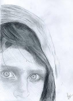Beautiful eyes by Reza Naqvi