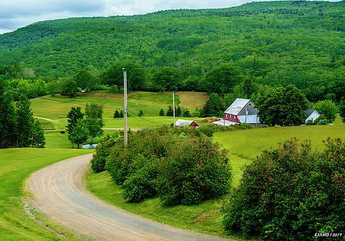 Beautiful Farm in Windsor Forks by Ken Morris