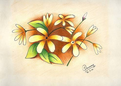 Beautiful Flowers by Tanmay Singh