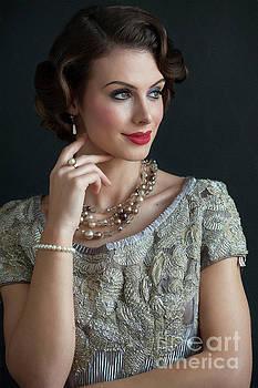 Beautiful Glamorous 1930s Woman by Lee Avison