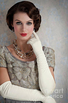 Beautiful High Society Woman From The 1930s  by Lee Avison