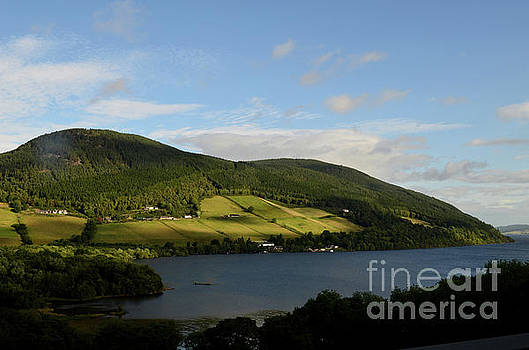 Beautiful Hills Surrounding Loch Ness on a Gorgeous Day by DejaVu Designs