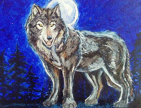 Beautiful Hunter #3 by Mark Bradley