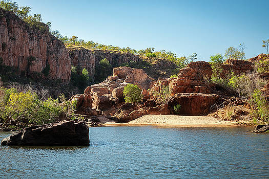 Beautiful Katherine River Gorge, Northern Territory, Australia by Daniela Constantinescu