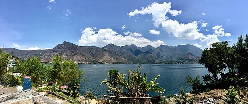Beautiful Lake Atitlan by Claire McGee