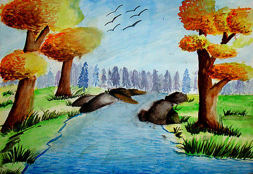 Beautiful Landscape by Tanmay Singh