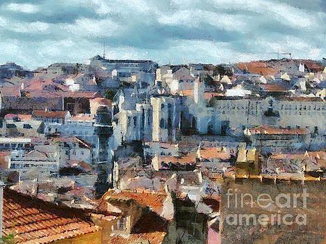 Dimitar Hristov - Beautiful Lisbon Street