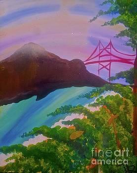Beautiful Marin County  by Tony B Conscious