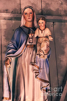 Beautiful Mary - Mother of the Christ #795 by Ella Kaye Dickey