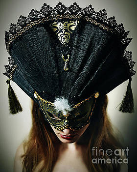 Dimitar Hristov - Beautiful Midnight Eyes I Venetian eye mask