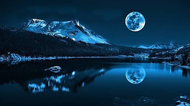 Beautiful Moon Light by Luke Lonergan by Luke Lonergan
