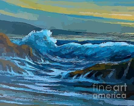 John Malone - Beautiful Ocean Abstract