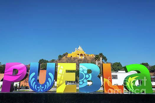 Beautiful Puebla Sign by Jess Kraft